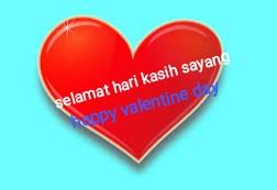 ucapan valentine bahasa Inggris
