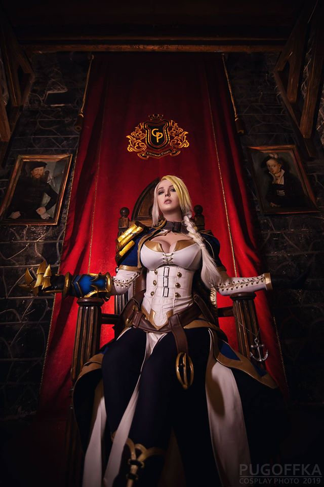 Milena Hime con su cosplay de World of Warcraft