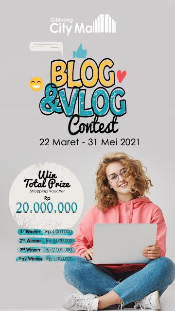 Blog vlog contest
