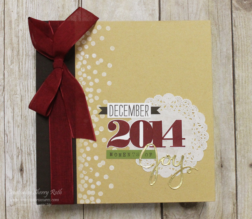 Sherrys Stamped Treasures Decorating And Labeling Your Scrapbook
