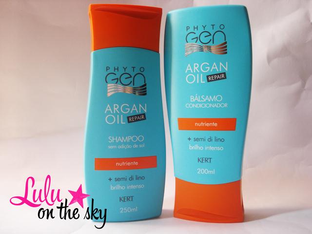 Shampoo Phytogen Argan Oil  e Condicionador Bálsamo Argan Oil - Kert