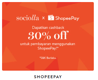 promo sociolla pakai shopeepay