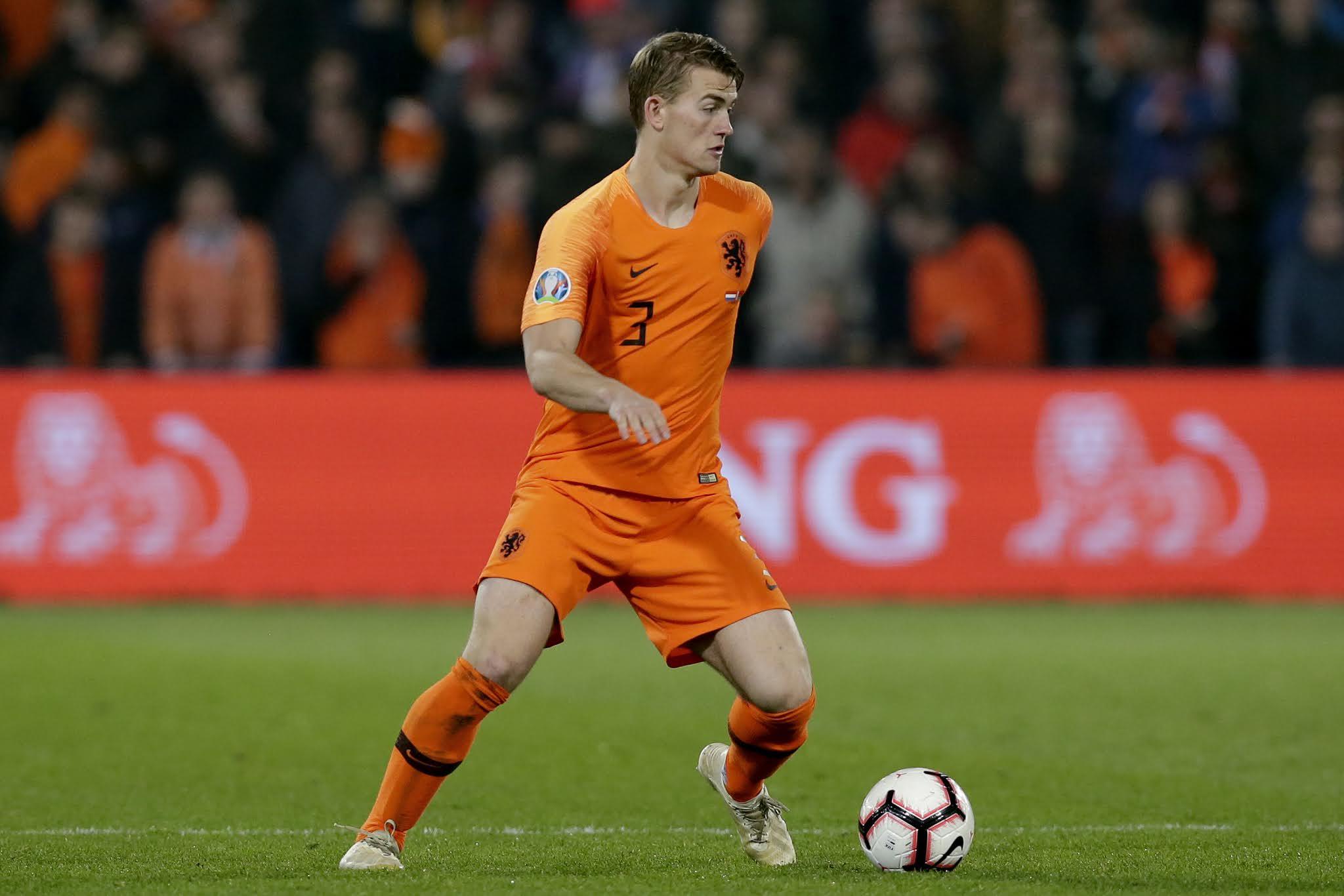 Matthijs de Ligt will have to step up in Virgil van Dijk's absence