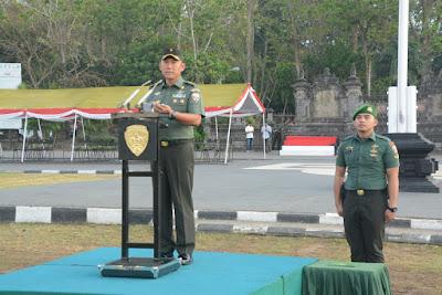 Kunker Presiden RI dan Wakil Presiden RI di Bali, Pangdam IX/Udayana Tekankan 4 Pedoman Pam VVIP