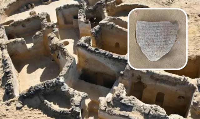 Arqueólogos descobrem vestígios de antiga comunidade cristã no Egito