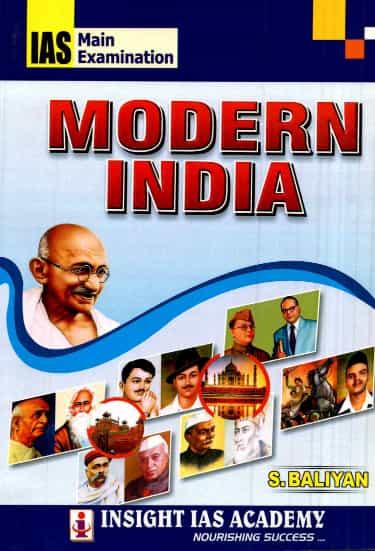 S Baliyan (Modern India Book) History Optional Notes Upsc