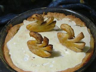 Очень вкусный пирог с яблоками. Лебединое Озеро.