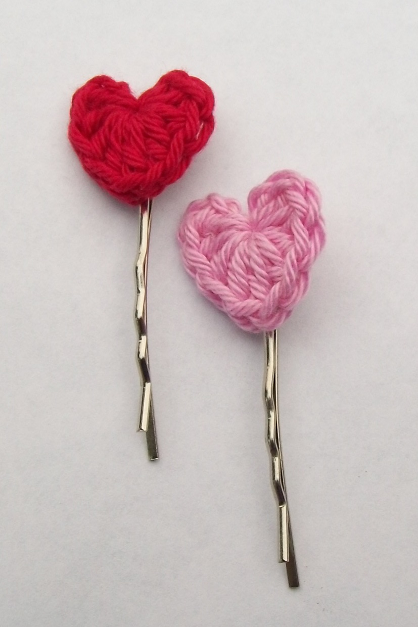 Cute Simple Acrylic Nail Designs: Flower Girl Cottage : Simple And Cute Crochet Heart