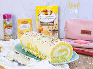 Gâteau roulé à la vanille pour la rentrée !
