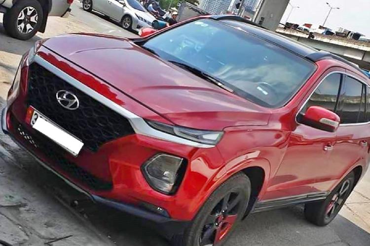 Hyundai SantaFe chạy 12 năm lên đời 2019 mới ở Hà Nội