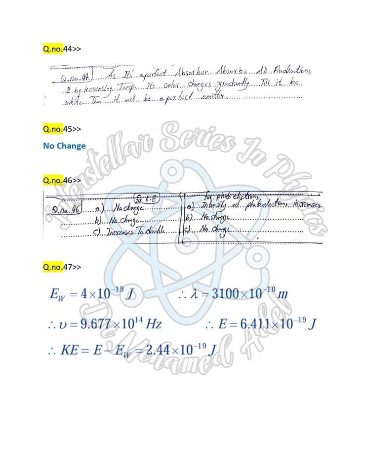 مراجعة فيزياء_لغات 65 سؤال  Physics بالإجابات للثانوية العامة  18