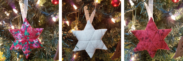 EPP star ornaments | DevotedQuilter.com