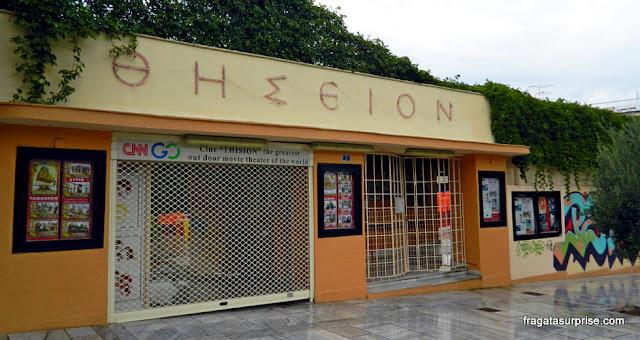 Cinema ao ar livre em Atenas: Cine Thision
