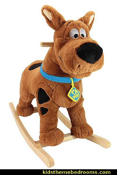 Scooby Doo rocker scooby doo bedroom decor kids furniture scooby doo themed