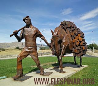 Monumento a los Gabarreros (El Espinar - Segovia)