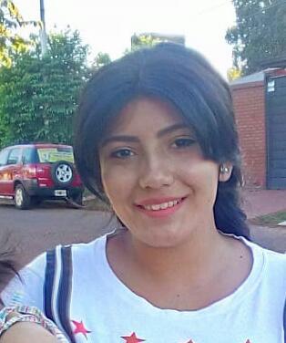 POSADAS -  Buscan a una jovencita de 15 años
