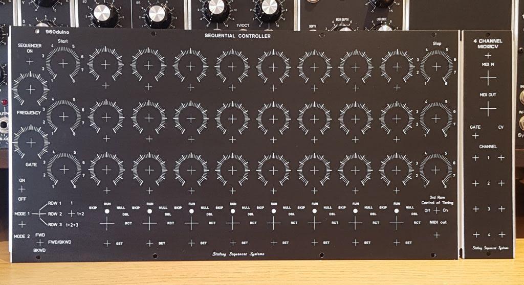 MATRIXSYNTH: 960duino - DIY Arduino Based MIDI Step Sequencer