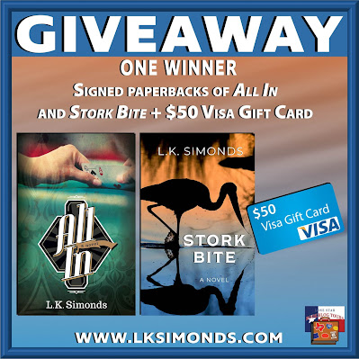 Stork Bite tour giveaway graphic. Prizes to be awarded precede this image in the post text.