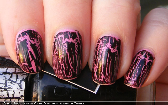 xoxoJen's swatch of OPI Black Shatter
