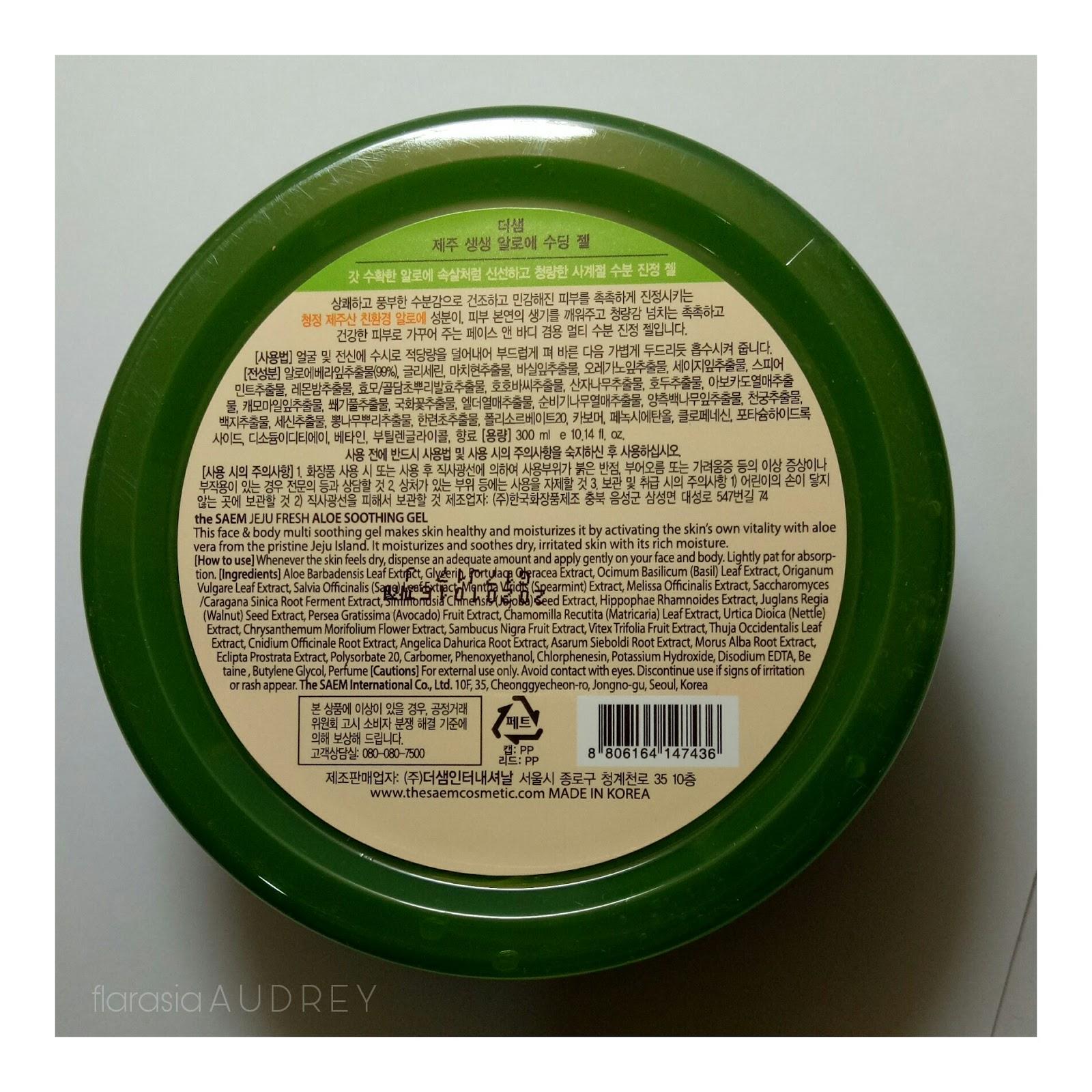The Saem Aloevera Soothing Gel Daftar Harga Terbaru Terlengkap Snail So Aku Akan Mulai Mereview Aloe Vera
