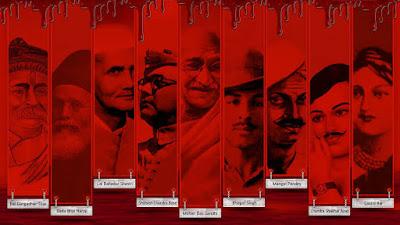 Hindi Poem on Freedom Fighter
