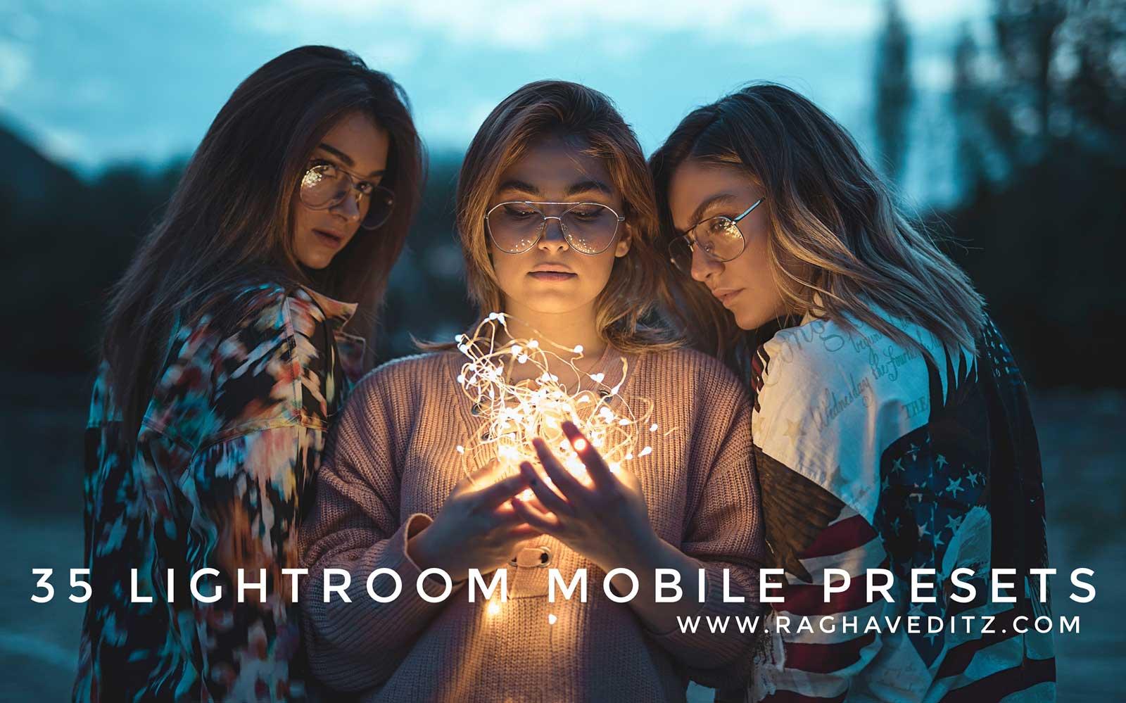 35 Free Lightroom Mobile Presets - Professional Lightroom Mobile Presets 1