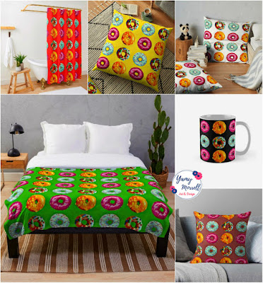 donuts-pattern-home-decor-by-yamy-morrell