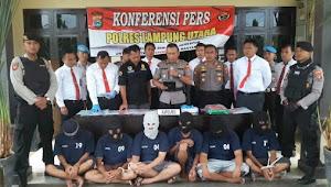 Baru hitungan Hari Kapolres AKBP Bambang Yudho Martono, S.I.K., M,Si berhasil mengungkap Dua kasus pidana