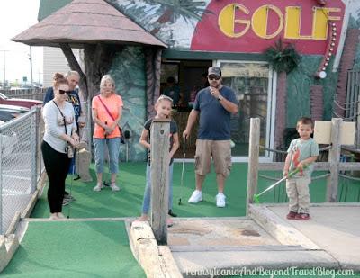 Jurassic Adventure Mini Golf in North Wildwood, New Jersey