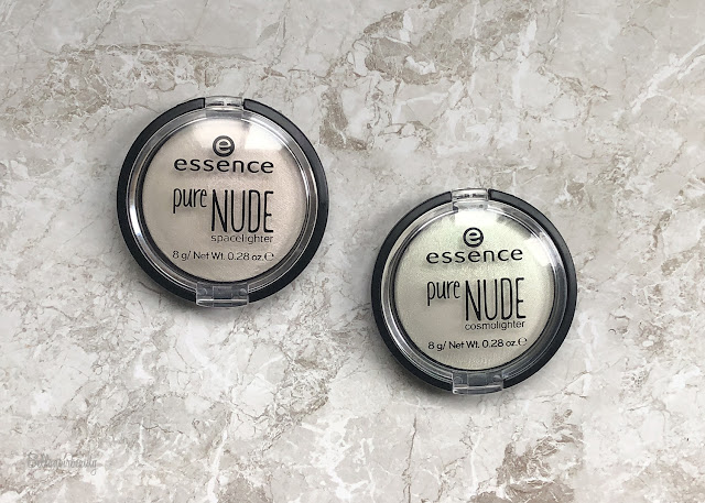 Essence Pure Nude Holographic Highlighters | bellanoirbeauty.com