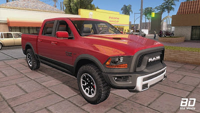 Download , Mod , Carro , Dodge Ram Rebel 2017 para GTA San Andreas, GTA SA , Jogo PC
