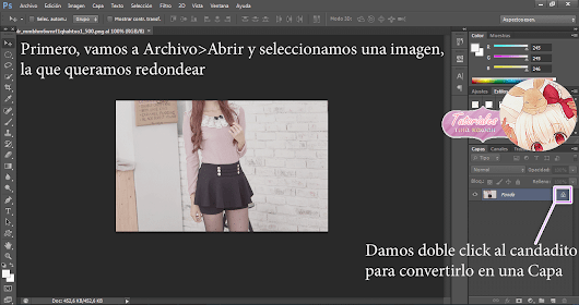 Tutorial: Redondear Imagenes en Photoshop CS6