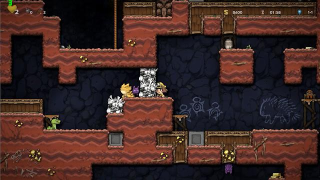 تحميل لعبة Spelunky 2 لعبة المغامرات والتسلية