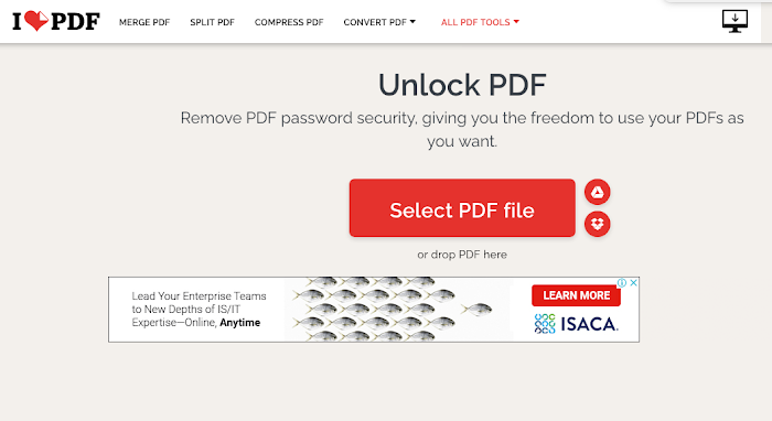 Top 6 PDF Password Remover to Unlock PDF Online Free