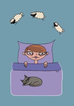 descanso insuficiente, insomnio