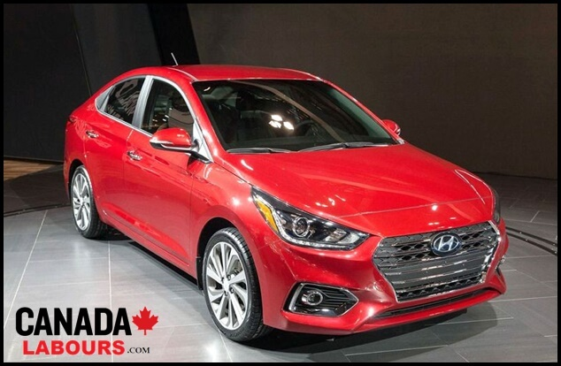 Hyundai Accent, cheapest new cars in Canada