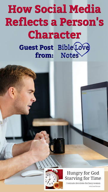 The comments we leave on social media reflect our character. This short devotion encourages Christians to examine their words and thoughts carefully.