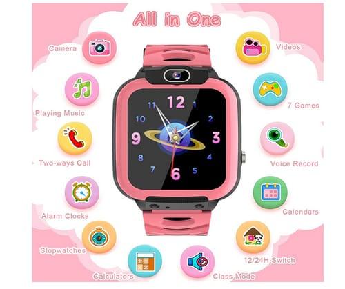 SZBXD HD Touch Screen Games Kids Smart Watch