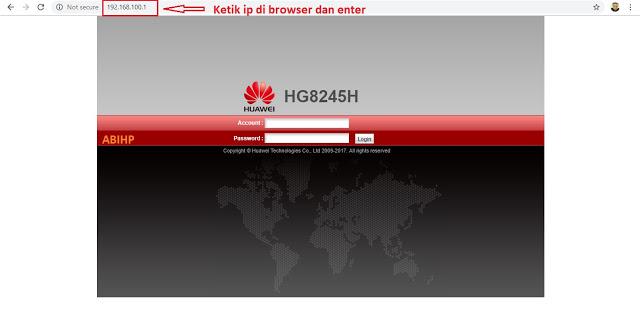 Ganti Password Login