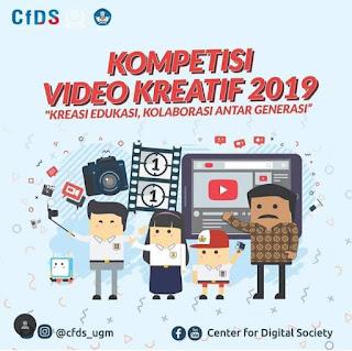 Lomba buat video kreatif guru pelajaran 2019