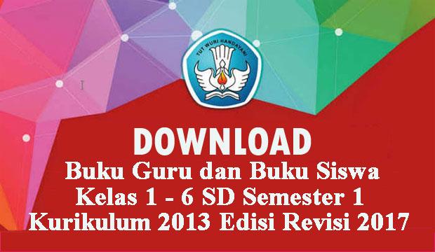 buku kurikulum 2013 sd revisi 2018 semester 1