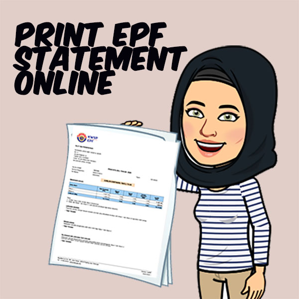How to get or Print EPF Statement Online