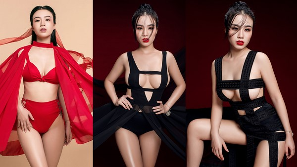 """Linh Miu tiếp tục gây sốc với bộ ảnh """"hồ ly"""" cực sexy"""