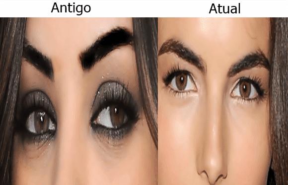 Mudanças-sobrancelhas