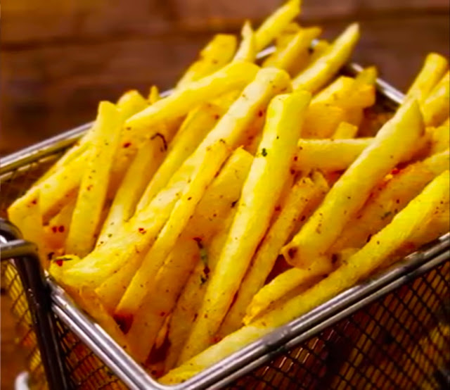 how to make french fries crispy