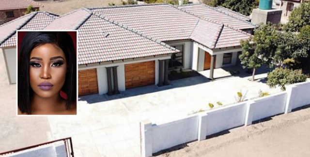 A South African media personality, Eva Modika showed off the beautiful house she built for her parents (Video)
