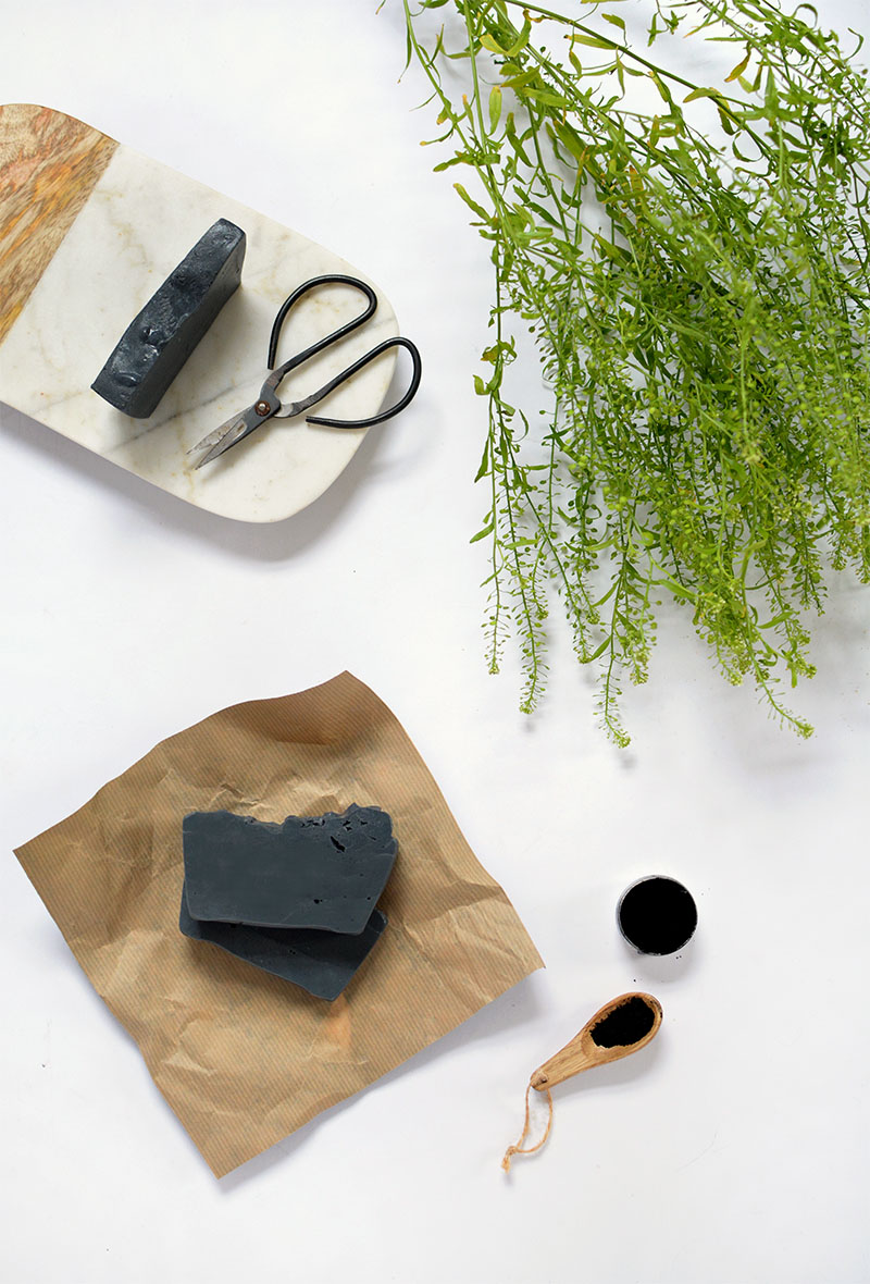 how to make charcoal soap for acne
