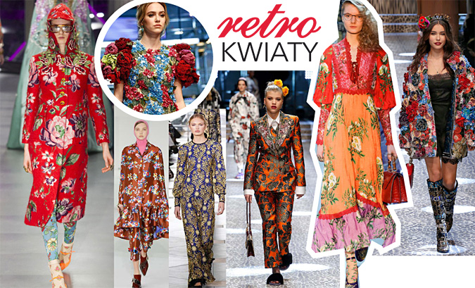 modne kwiatowe sukienki 2017 2018