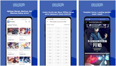 Aplikasi Baca Komik Online & Offline - 1