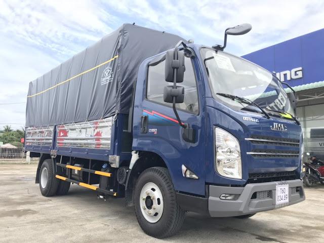 Giá xe tải Đô Thành IZ650 thùng bạt